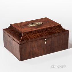 Figured Maple and Inlaid Box