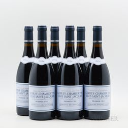 Bruno Clair Gevry Chambertin Clos St Jacques 2016, 6 bottles
