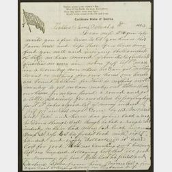 Large and Interesting Lot of Civil War Period Letters