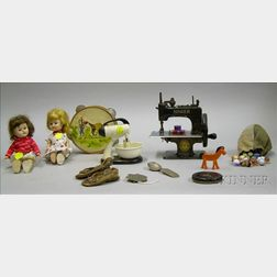 Group of Assorted Toys and Collectibles