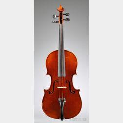 Modern German Violin, E.H. Roth Workshop, Markneukirchen, c. 1965