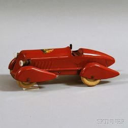 Wyandotte 1933 Chicago World's Fair Commemorative Pressed Steel Racer