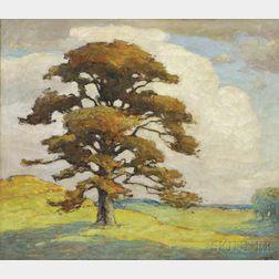 William Matthews (American, 1878-1966)      Lone Tree