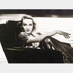 George Hurrell (American, 1904-1992)    Lot of Three Photographs of Celebrities From PORTFOLIO I: Clark Gable,   Bette Davis