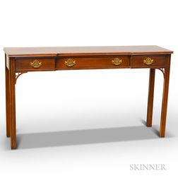 Chippendale-style Mahogany Sofa Table