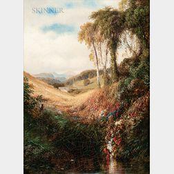 Samuel Colman (American, 1832-1920)      A Song of Summer