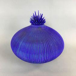 "Natalie Blake ""Sea Urchin"" Studio Pottery Vessel"
