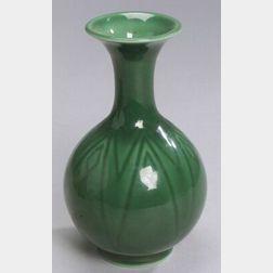 Rookwood Pottery Green Glaze Vase