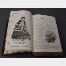 Godey's Lady's Book, 1854.        Estimate $50-75
