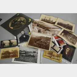 Fourteen Stereoviews, Photographs, and Photographic Reproductions