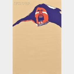 Fritz Scholder (Native American, 1937-2005)      War Cry