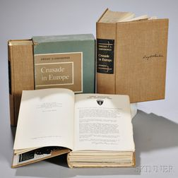 Eisenhower, Dwight D. (1890-1969) Crusade in Europe,   Three Signed Copies.