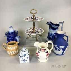 Seven Pieces of English Ceramics