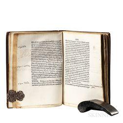 Haedus, Petrus (1427-1504) Anterotica, sive De Amoris Generibus.