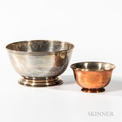 Shreve, Crump & Low Sterling Silver Footed Bowl