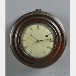 Brewster and Ingraham Miniature Gallery Clock