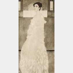 After Gustav Klimt (Austrian, 1862-1918)      Portrait of Baroness Wittgenstein