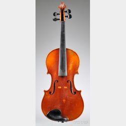 Markneukirchen Violin, Kurt Gutter, 1927
