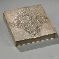 Iranian Silver Box