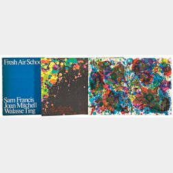 Fresh Air School  /A Portfolio of Three Works:      Sam Francis (American, 1923-1994), Untitled