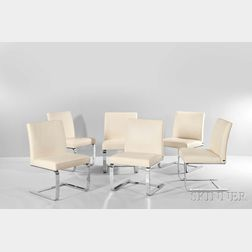 Six De Sede Dining Chairs