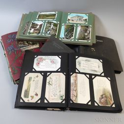 Large Group of Victorian and Early 20th Century Postcards