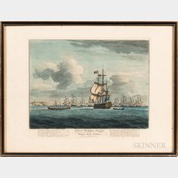 "Maritime Engraving ""Sweet William's Farewel to Black Eyed Susan,"""