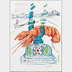Salvador Dalí (Spanish, 1904-1989)      The Portfolio Imaginations & Objects of the Future