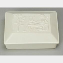 Wedgwood Arnold Machin Designed Box and Cover