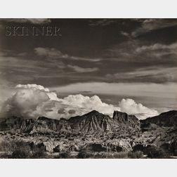 Edward Weston (American, 1886-1958)      Mountains, New Mexico