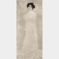 After Gustav Klimt (Austrian, 1862-1918)      Portrait of Frau Serena Lederer