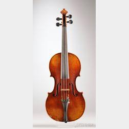 Modern German Violin, Georg Walter Gutter, Markneukirchen, 1925