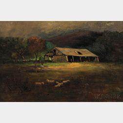 George William Whitaker (American, 1841-1916)    Mt. Hope Farm, Bristol, R.I.