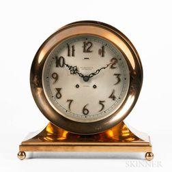 "Chelsea Clock Co. ""Commodore"" 8-inch Ship's Bell Clock"