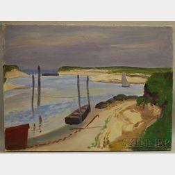 Edmund Franklin Ward (American, 1892-1991)      Cape Cod Dunes.