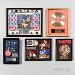 Two RIAA Certified Platinum Record Sales Awards