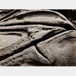 Edward Weston (American, 1886-1958)      Rock - Point Lobos