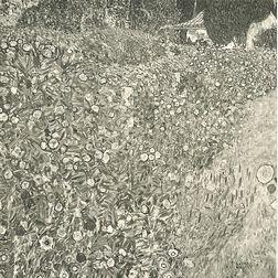 After Gustav Klimt (Austrian, 1862-1918)      Italian Landscape
