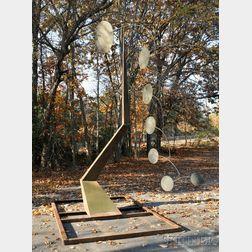 Robert Kingsland (1947-2012) Kinetic Outdoor Sculpture