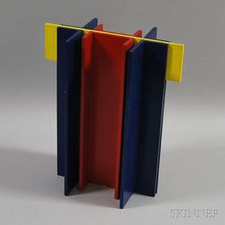 American School, 20th Century      Untitled Geometric Tabletop Sculpture or Maquette.