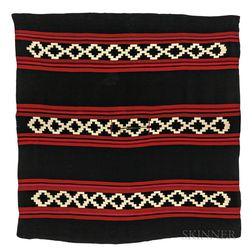 South American Woven Poncho