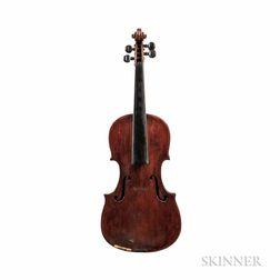 Composite Violin, British School, c. 1800