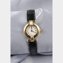 Lady's 18kt Gold Wristwatch, Cartier