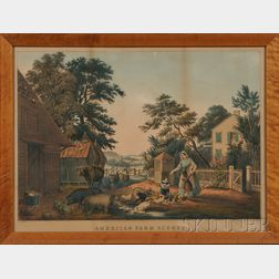 Nathaniel Currier, publisher (American, 1813-1888)      American Farm Scenes No. 2. (Summer).