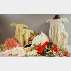 Group of Antique and Vintage Clothing and Accessories