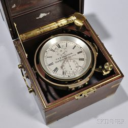 Two-Day Marine Chronometer T.S. & J.D. Negus