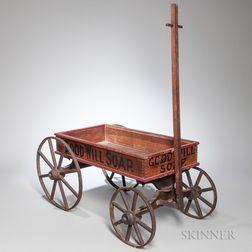 """Good-will Soap"" Wagon"