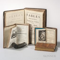 Fables, 18th and 19th Century, Four Titles in Five Volumes.