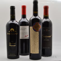 Mixed Worldwide Reds, 4 bottles