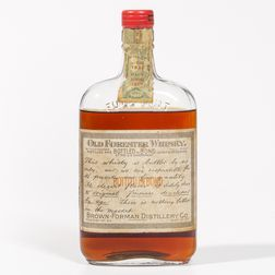 Old Forester 16 Years Old 1917, 1 pint bottle